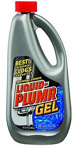 Liquid-Plumr Professional Strength Gel, Clog Remover - 32 Oz