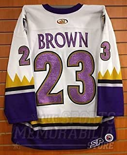 Dustin Brown Manchester Monarchs Game Issued Hockey Jersey Los Angeles Kings