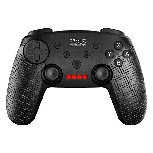Eaxus®️ kabelloser DoubleShock Controller für Nintendo Switch - Bluetooth Gamepad