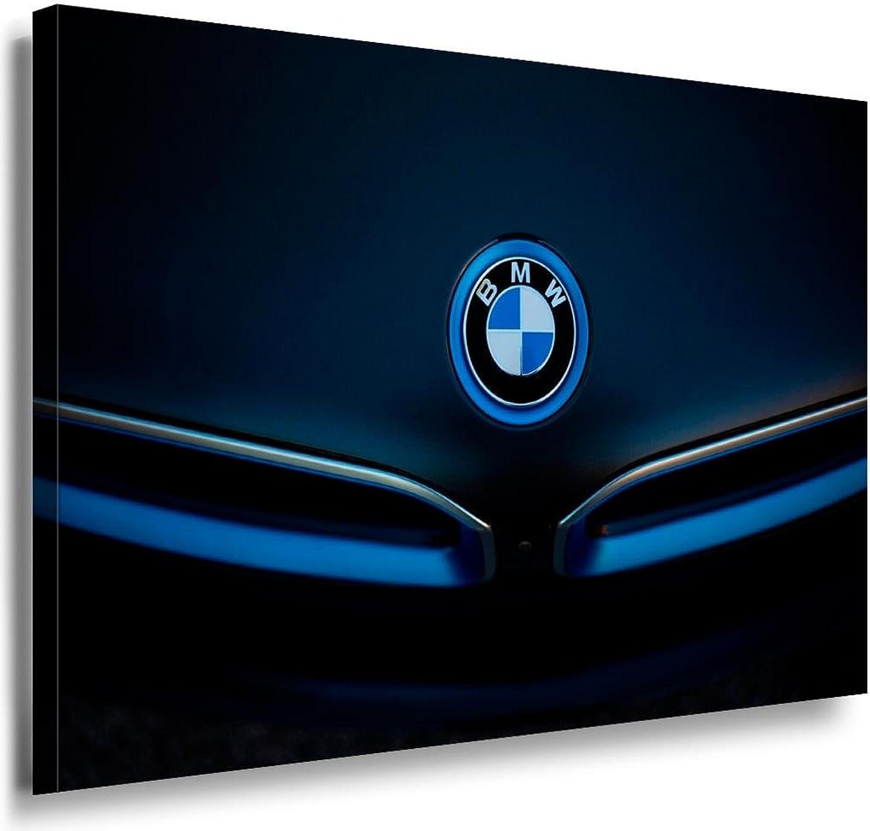 BMW Logo Blau Leinwandbild LaraArt Bilder Leinwand Bild + + ...