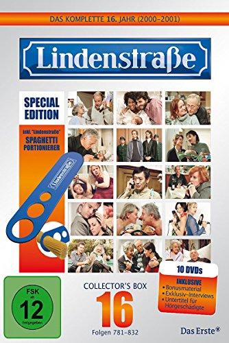 Lindenstraße - Das komplette 16. Jahr (Ltd. Edition mit Spaghetti-Portionierer) (10 DVDs)