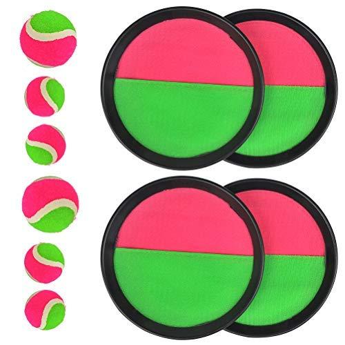 FOROREH Juego de pelota para niños, neopreno con bola con 4
