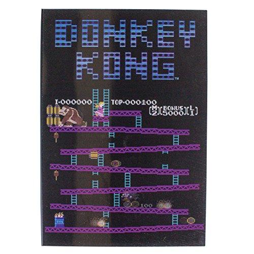 Paladone Abysse Corp_GIFPAL409 Donkey Kong Nintendo – NES Cartridge Untersetzer, Mehrfarbig