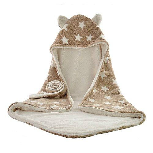 Bébé Sac de couchage Nouveau-né Couverture Bébé Bain à Capuche-Serviette Enfants Nid d'ange Nouveau-Né 0-12 mois Doux Douillette universel Enfants Étoiles
