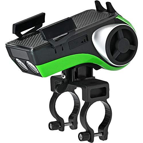 Soporte para bicicleta Bicicleta de audio Bluetooth del teléfono móvil del subwoofer soporte del faro sirena de montar a caballo de ciclo de la bicicleta Accesorios del teléfono móvil Soporte Soporte
