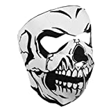 Masque Neoprene 'Tete de mort - Skull' - Airsoft - Paintball - Moto - Ski - Outdoor