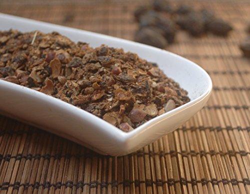 Naturix24 – Sägepalmenfrüchte, Sabalfrüchte geschnitten – 250g-Beutel