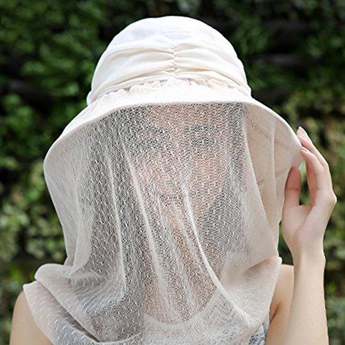 GLJJQMY Sombrero de protección solar para bicicleta al aire libre, protección UV,...
