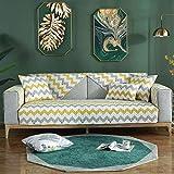B.H Fundas Gruesas para sofá Protector para sofá,Cojín de Cuero Simple para sofá,...