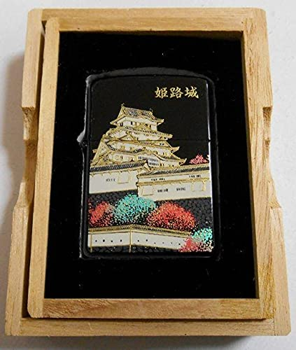 ジッポー 品 日本の名城 姫路城 黒漆 本金蒔絵 ライター