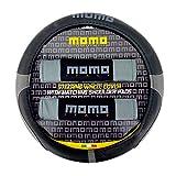 MOMO SWCK007BG Funda de Volante y Almohadillas, Negro/Gris