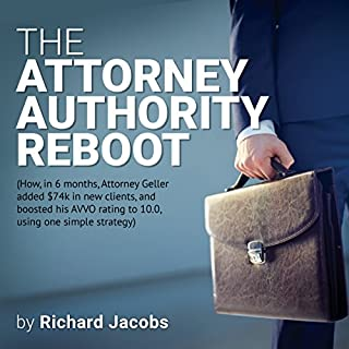 The Attorney Authority Reboot audiobook cover art