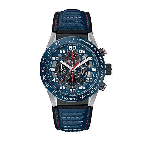 TAG Heuer Carrera Red Bull Racing Edición Especial 45mm Reloj para hombre...