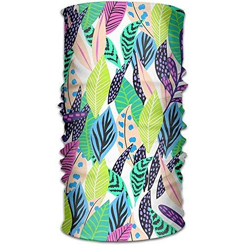 KDU Fashion Neck Balaclava, laat tekenen patroon natuur lopen wandelen werk uit gezichtsmasker Sweatband hoofd sjaal hoofddoek een maat