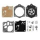 Piezas de repuesto para kit de reparación de carburador Huq para Walbro K10-Wj Mcculloch Motosierra Titan 51 55 60 reparación