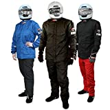 PROFOX-102 Black 4XL Jacket Auto Racing Fire Resistant Single Layer SFI 3.2A/1 Racing Fire Suit (Jacket only)