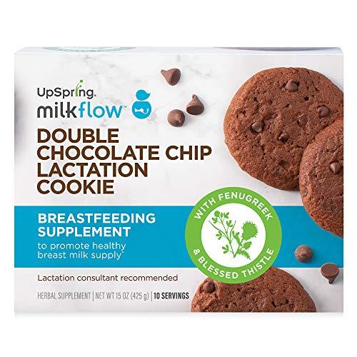 UpSpring Milkflow Double Chocolate Chip Lactation Cookies   Amazon