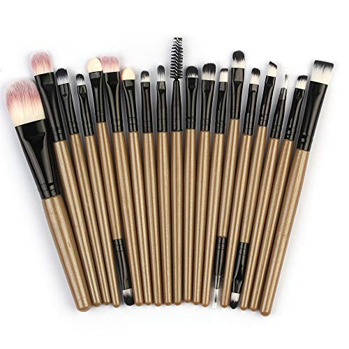 Make up Pinsel Set 20 PCS Professionelle Makeup Pinsel Set Schminkpinsel Kosmetikpinsel Lidschatten...