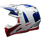 BELL casco MOTO-9 FLEX VICE BLUE/RED S