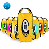 Waterproof Dry Bag, Dry Bag with Bluetooth Speaker Solar Powered and USB Powered RGBW LED Light, Roll Top Sack for...