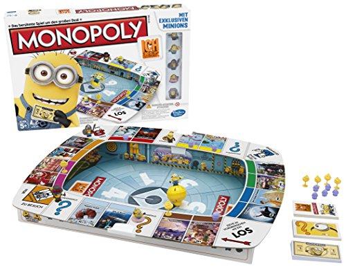 Hasbro Spiele A2574398 - Ich - Einfach unverbesserlich Monopoly, Familienspiel