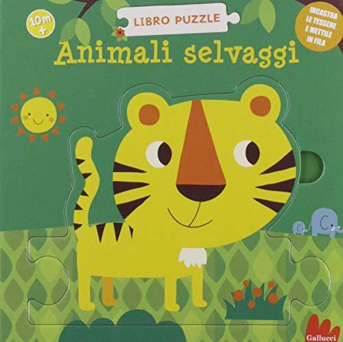 Animali selvaggi. Libro puzzle. Ediz. a colori
