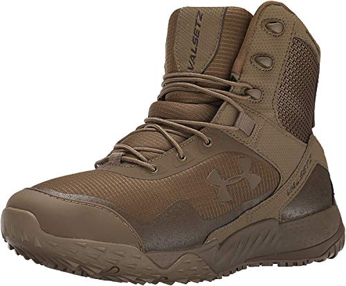 Under Armour Men's Valsetz RTS Military and Tactical Boot, Coyote Brown (220)/Coyote Brown, 8