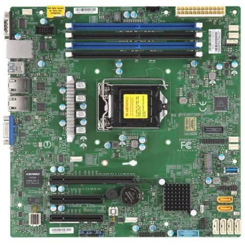 Fantastic Deal! Supermicro MBD-X11SCL-F-O C242 LGA1151 4X DDR4 2666MHZ ECC UDIMM PCH 3X PCI-E