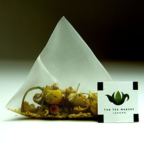 The Tea Makers of London Chamomile Blossoms Herbal Tea Triunes - 100 Tea Bags