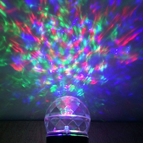 Kaleidoscope Lights Show Magical Spotlights  Outdoor Waterproof Projector Rotating Flame Light for Garden Indoor Outdoor BirthdayColorful and White