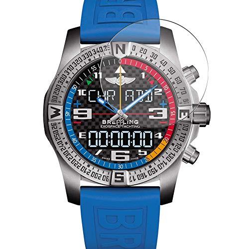 Vaxson 3 Stück 9H Panzerglasfolie, kompatibel mit Breitling Exospace B55 smartwatch Smart Watch, Panzerglas Schutzfolie Displayschutzfolie Bildschirmschutz