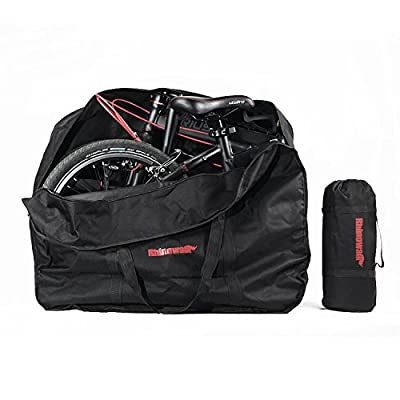 Huntvp Bike Travel Bag Case Box Thick Bicycle Folding Carry Bag Pouch,Bike Transport Case for Air Travel