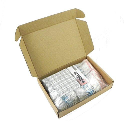 Ictouch 100value 500pcs 2W Metal Film Resistor +/-1% Assortment Kit KIT0141