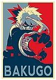 Póster de My Hero Academia Katsuki Bakugo (30 x 46 cm) (300 x 460 mm), acabado esmerilado, material...