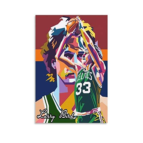 OKJB 2 lienzos artísticos para la pared de la sala de baloncesto (40 x 60 cm)