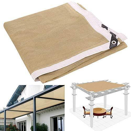 PYXZQW Multi-Functional Summer Sunshade Net Shade Cloth Balcony Sunscreen Sun Shelters,4x4m