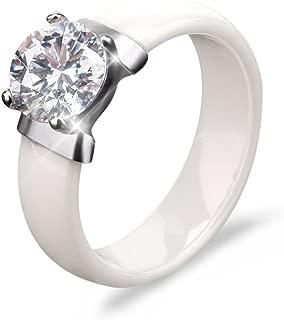 Best ceramic diamond ring Reviews