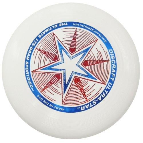 Discraft ウルトラスター 175g アルティメット・スポーツディスク (ホワイト)