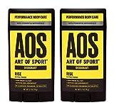 Art of Sport Men's Deodorant (2-Pack) - Rise Scent - Aluminum Free...