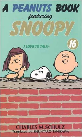 A peanuts book featuring Snoopy (16)