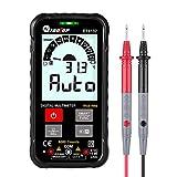 Kecheer Multímetro digital de bolsillo inteligente,Multímetros digitales,voltimetro amperimetro,medidor de voltaje frecuencia capacitancia True RMS 6000