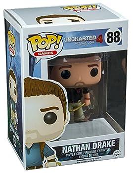 Funko Pop Uncharted 4 Nathan Drake Wearing Naughty Dog Shirt Exclusive Vinyl Figure