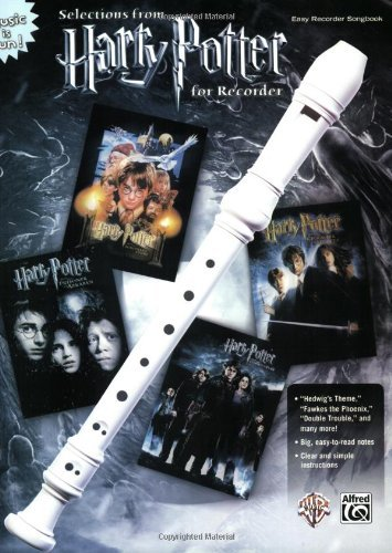 Harry Potter Recorder Songbook (Book Only) (English Edition)