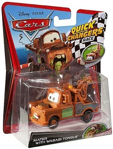 Disney Pixar CARS 2 Movie 155 Quick Changers Race Mater with Wasabi Tongue by Mattel