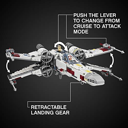 X-Wing Starfighter Luke Skywalker LEGO Star Wars 75218 - 730 Pièces - 8