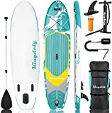 Inflatable Stand Up Paddle Board (6 inches Thick),...