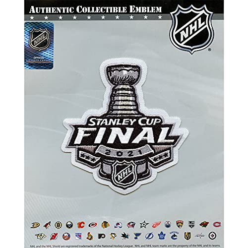 2021 Stanley Cup Final Official Logo Embroidered NHL Jersey Patch