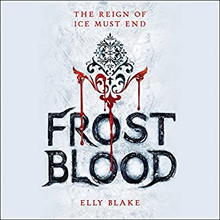 Frostblood audiobook cover art