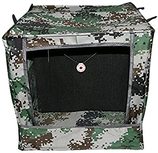 Huntingdoor Folding Camouflage Target Box Slingshot Target Box Recycle Ammo Case for Catapult Hunting Shooting Practice