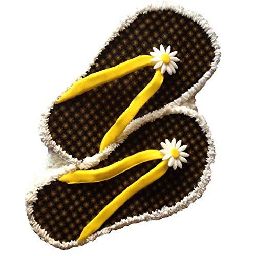 CK Products Flip-Flops Kuchenform, Kunststoff, Weiß